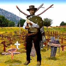 "1/6 Good Cowboy Diorama 15""x15"" - Ideal For IMINIME CLINT EASTWOOD Redman"