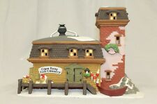 """Retired Department 56: Dickens' Village: """"The Mermaid Fish Shoppe"""" #5926-9"""
