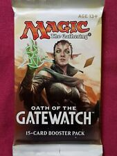 Magic The Gathering OATH OF THE GATEWATCH New Sealed Booster Pack MTG