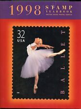 UNITED STATES 1998 OFFICIAL USPS COMMEM YEAR BOOK SOLD FOR  $39.95 BY THE USPS