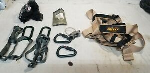 Misty Mountain Milroc Tactical Belt with PETZL Reverso 4 and Carabiners Kit