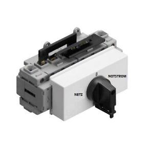 NOTSTROMUMSCHALTER NETZ UMSCHALTER NOTSTROM Sontheimer Einbau 63A 400V 32A 400V