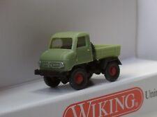 Wiking Mercedes Unimog U 411 reseda grün - 0972 01 - 1:160