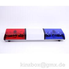12V Leuchtbalken für Showzwecke Rot-Blau Rundumleuchte Disco Licht Bar
