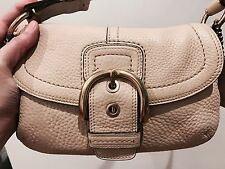COACH Original Classic Leather Shoulder Handbag NO RESERVE!