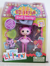 MINI La La Loopsy Silly Fun House JEWEL SPARKLES Doll & Accessories - Age 4+