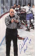 Red Storey Autographed Hockey Legends Card HOFer
