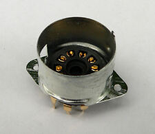 B9A Oro de montaje PCB bordeó 9 Pin Socket De Válvula Para Amplificadores Marshall