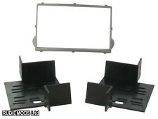 Hyundai i800 2007 on SILVER Double Din Car Stereo Fitting Kit Facia CT23HY16