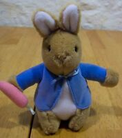 Vintage Eden Beatrix Potter PETER RABBIT Plush Stuffed Animal TOY