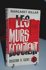 """LES MURS ECOUTENT Margaret Millar 1961 Trévise """"Le cachet N°16"""""""