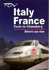 TGV Italy - France: Turin to Chambery - Driver's Eye View * DVD
