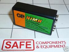 NEW 9V Ni-MH Rechargeable Battery 170mAh 6HR61 Part# 17R8H QTY-1 USA SELLER  D42