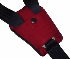 Baby RED Buckle Strap Crotch Car Seat Pram Highchair Harness Cover Belt Pad NEW