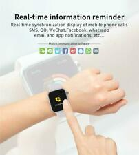 Smartwatch F10 Bluetooth Uhr Curved Display Android iOS Samsung iPhone Huawei IP