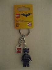 Lego The Batman Movie Catwoman Key Ring/ Key Chain Brand New 853635