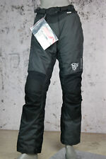 Büse 11.4095 Carrara Damen Pant Motorradhose, Textilhose, Black Anther, Größe 42
