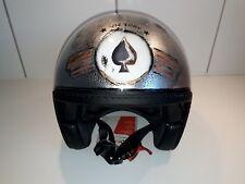 Cafe Racer Airbrush Helm (UNIKAT) Größe M (NEU)