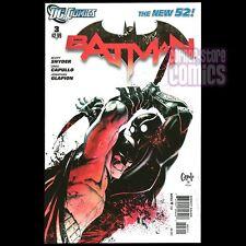 BATMAN #3 New 52 Regular Cover SCOTT SNYDER Greg Capullo 1st Print DC COMICS NM!