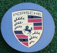 Factory Porsche Wheel Center Caps Genuine Original OEM Color Logo Crest Set of 4