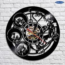 Kingdom Hearts Home Clock Movies Art Vinyl Record Clock Wall Decor Handmade