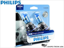 PHILIPS 9004 Crystal Vision Ultra halogen 4000K Light bulbs 9004CVB2 DOT SET X2