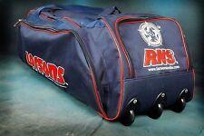 Rns Larsons Wheelie Bag Cricket Bag Kit 3 Wheel Kit Bag Assorted Colors