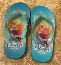 Pair of Frozen Flip-Flops - Size 11/12 from Disney