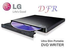 MASTERIZZATORE ESTERNO LG ULTRA SLIM DUAL LAYER LETTORE USB 2.0 BLACK MAC DVD RW
