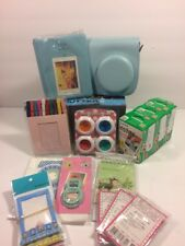 Fujifilm Instax Mini Instant Film 60 Total (3 Twin Packs) & Blue Accessories