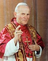 Roman Catholic POPE JOHN PAUL II Glossy 8x10 Photo Church Print Priest Poster