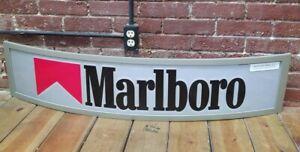 "2005 Marlboro Cigarettes Tobacco Sign Large 46"" Advertising Store Retail Rare"