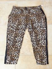 LEOPARD PRINT PANTS size 3X