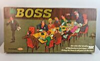 Rare Vintage : THE BOSS GAME - Ideal Board Game - 1972
