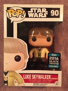 Funko Pop Star Wars #90 Luke Skywalker Cermony ( 2016 Galactic Conv. )