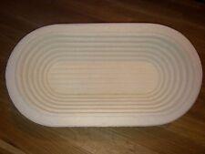 Gärkorb Gärkörbchen Brotform Holzschliff 0,5kg Brote m. Info perfekt Brotbacken