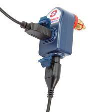 O-105 OPTIMATE 3300mA Cargador USB de salida dual resistente a la intemperie/Bicicleta Din Enchufe OPT105