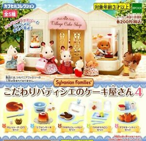5 set Commitment Cake Shop In Pastry 4 Sylvanian Families /EPOCH