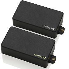 EMG HZ H4 / H4A Passive Humbucker pickup set - black NEW