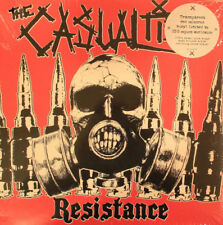 The Casualties ‎- Resistance LP - RED COLORED VINYL ALBUM - Hardcore Punk Record