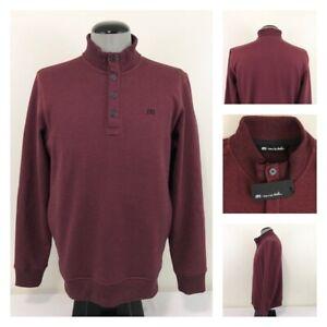 NWT Travis Mathew Wall Mens M-2XL High Neck Lined Golf Sweatshirt Sweater $125