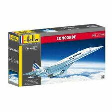 Concorde model kit-HEL80445-heller 1:125 - concorde