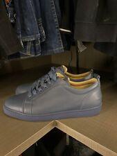 Christian Louboutin Louis Junior Grey Leather UK 10.5 EUR 44.5 100%
