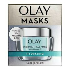 Olay Masks Hydrating Overnight Gel Mask with Vitamin E - 1.7 fl oz
