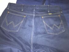Wrangler Cotton Indigo, Dark wash High Rise Jeans for Men