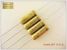 2pcs Vishay ROE Early EB Series 10uF/63V Axial Copper Rod Capacitor