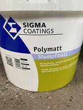 12,5 Liter Sigma Polymatt  abgetönt Portofrei Restposten (85)