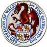 Großbritannien 5 Pfund 2017 Queen's Beasts Drache von Wales in Farbe