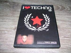 I Love Techno - Interviews by Marco Bailey * RARE DVD Belgium 2003 Region 0 PAL