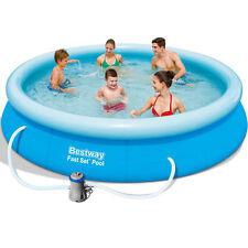 Bestway Pool Ø366x76cm Fast Set Pool 57274 Swimmingpool Schwimmbad Schwimmbecken